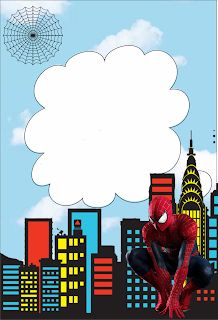 37 Mejores Imágenes De Invitación Spiderman Invitacion De