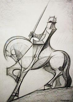 Antoni Gaudí sketch | Flickr - Photo Sharing!