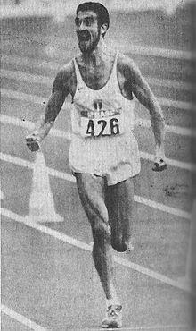 1988 Gelindo Bordin.(Italie) JO Séoul (Corée du Sud)