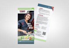 Kettle Fire Creative, YWAM, rack cards, Colorado, Strategic Frontiers, DTS, ministry, missions, culinary, Bible, 10/40 window, blue, green, white, red, layout, marketing, advertising, youth, nonprofit