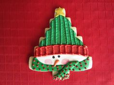 Homespun Tree Cookie Cutter by Snowflakelady, via Flickr
