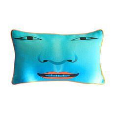 Théâtre Pillow Cover 40x25 Turq, $59, now featured on Fab.