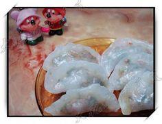水晶素蝦餃