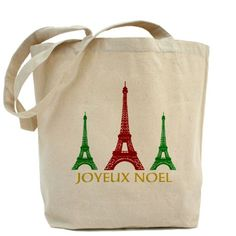 sold 1 of my Eiffel Tower Paris Joyeux Noel Tote Bags...get ready for the Christmas holidays! great for groups