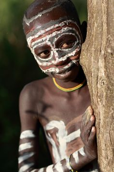 Ethiopian Tribes, Suri Boy