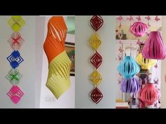 8 Easy Diwali Decoration Ideas{Tutorial}#by Deep Panesar#A3 all about art - YouTube