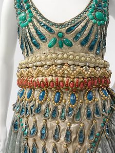 Paul Poiret   Fancy Dress Costume Harem Dress/Pants   1911   French   Metal, Silk, Cotton