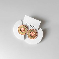 CHERYL  Earrings from EVOKE collection