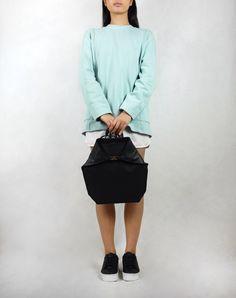 """Genuine leather backpack """"PARACORD"""" by ErikaSzuecs on Etsy https://www.etsy.com/uk/listing/270200403/genuine-leather-backpack-paracord"""