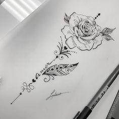 30 beliebtesten Handzeichnung Tattoos im Jahr 2019   #flowertattoo,  #beliebtesten #flowertat... #TattooDesignsMänner #Tattoo-IdeenfürMänner Forearm Tattoos, Body Art Tattoos, Hand Tattoos, Sleeve Tattoos, Tatoos, Owl Thigh Tattoos, Unique Tattoos, Beautiful Tattoos, Small Tattoos