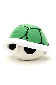 Koopa Troopa Green Shell Plushie available at Hot Topic