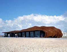 East Beach Café in Littlehampton, UK by Heatherwick Studio