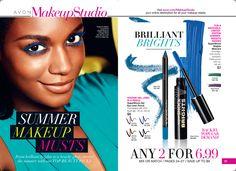 SHOP AVON BROCHURE ONLINE Campaign 14-2014 Shop with me at https://andreafitch.avonrepresentative.com/ #makeup #eyemakeup