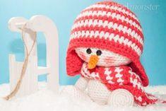 "Amigurumi – Crochet Snowman ""Sven"""