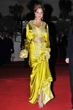 Gorgeous Princess Lalla Soukaina, Moroccan Caftan