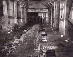 De Madrid al cielo: Álbum de fotografías y documentos históricos. - Urbanity.cc   Incendio del Teatro Novedades.1928. (Marín).