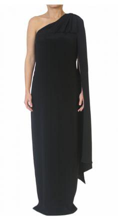 Vestido largo con un hombro ANGEL SCHLESSER http://www.pretarent.com.co/shop/producto/vestido-largo-con-un-hombro1