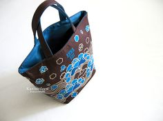 My Japanese motif Anna Sui tote | S$30/-