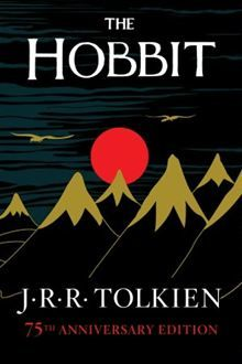 """The Hobbit"" by J.R.R. Tolkien."