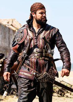Howard Charles in 'The Musketeers' (2014). x