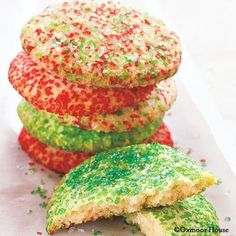 Gooseberry Patch Recipes: Big Crunchy Sugar Cookies - a holiday classic you'll love!