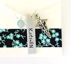 Nurse Necklace, Personalized Nurse Necklace, RN Necklace, Personalized RN Necklace, Medical Field, Nurse Gift, Custom Necklace