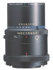 New in box: Mamiya RZ67 250mm/4.5  $620