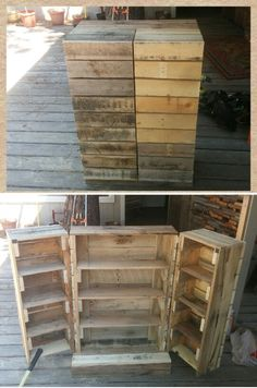 Pallet DVD case. Painted and in the house. Love it!