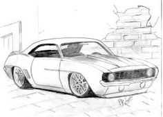 1969 Dodge Charger Muscle Car Art Print Canvas Print