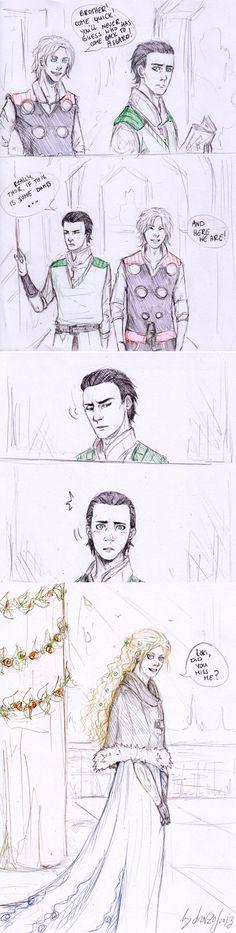 quite a lot of you where asking how I imagined Loki and Sigyn meeting. Loki and Sigyn 4 Loki Thor, Tom Hiddleston Loki, Marvel Avengers, Marvel Comics, Loki And Sigyn, Loki Art, Geek Culture, Marvel Cinematic Universe, Fandoms
