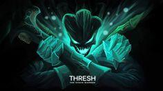 League of Legends Thresh the Chain Warden Hanenama HD Art