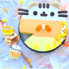 Gluten Free Cakes, Gluten Free Desserts, Pusheen Love, Pusheen Stuff, Pusheen Cookies, Halloween Food For Party, Little Pumpkin, Candy Corn, Holiday Treats