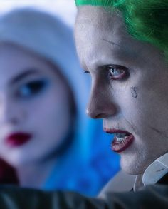 Joker and Harley(kind of) in new Suicide Squad HQ stills --Be your own Whyld Girl with a wicked tee today! http://whyldgirl.com/tshirts