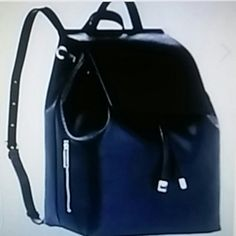 BLACK SAFFIANO LEATHER MINI BACKPACK Gorgeous black saffiano leather mini backpack india (barneys new york Bags Backpacks
