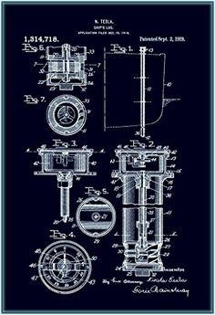 Ship's Log schematic : Nikola Tesla : : Fine Blueprint Giclee for sale online Nikola Tesla, N Tesla, Art Prints For Sale, Wall Art Prints, Fine Art Prints, Tesla Patents, Cool Stuff For Sale, Affordable Art, Home Decor Wall Art