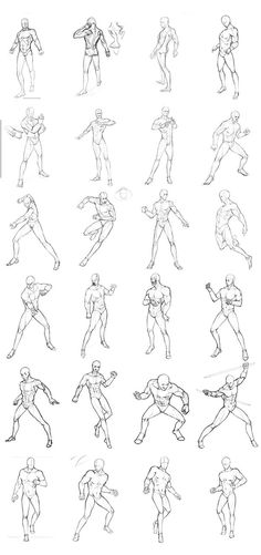 I drew some pose sketches during the winter vacation.All the pose are based on other paintings and movies.It's just personal practice and not for commercial use. PART1:theoneg.devia...