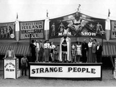 strange people | vintage circus.