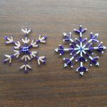 How to Make a Snowflake Out of Beads and Wire (Tutorial) - DIY Home Hacks