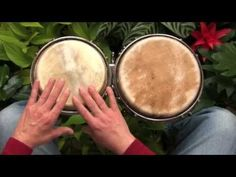 A simple African rhythm for beginners on bongos - YouTube