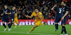 Cuplikan Gol Barcelona 2-1 Atletico Madrid (Liga Champions)