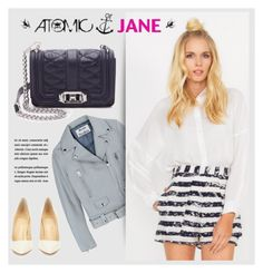 """""""Atomic Jane"""" by atomic-jane ❤ liked on Polyvore featuring Acne Studios, Rebecca Minkoff, Christian Louboutin, women's clothing, women, female, woman, misses, juniors and atomicjane"""