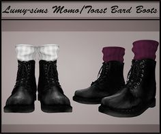 Sims 4 CC's - The Best: Boots by Lumy Sims // http://vaidososimmer.tumblr.com/