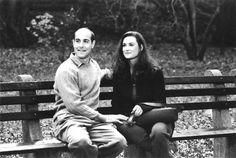 Stanley Tucci & Demi Moore (Deconstructing Harry 1997) Woody Allen. Photo J. Clifford & Sweetland Films.