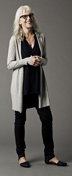 Featured Tipster: Rebecca @ Eileen Fisher great style