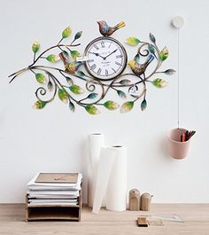 10 Best Decorative Antique Vintage Wall Clock Home Wall Decor Images