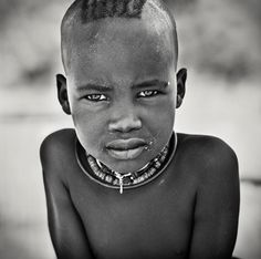 Himba boy from Namibia, Stefan Gries
