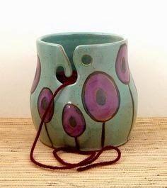 Colors of the World: Чаша для пряжи. / Yarn Bowl.
