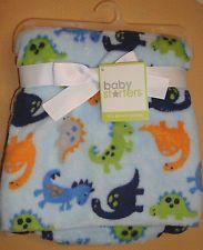Pretty Baby Starters Little Dinosaurs Blanket CUTE!