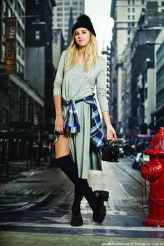 Moda y Tendencias en Buenos Aires : 47 STREET MODA JUVENIL OTOÑO INVIERNO 2015: MONOS, VESTIDOS, FALDAS Y ENTERITOS