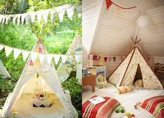 in love with teepees <3